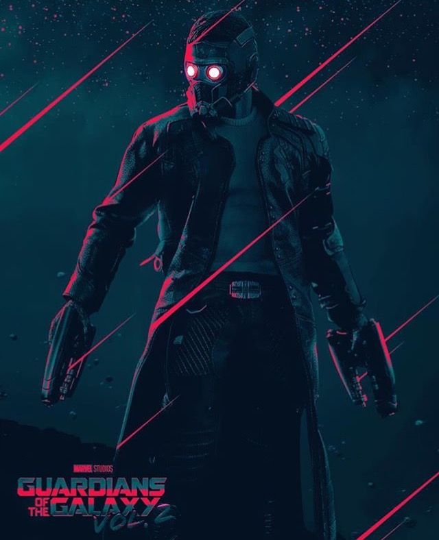 Peter Quill Guardians Of The Galaxy vol.2