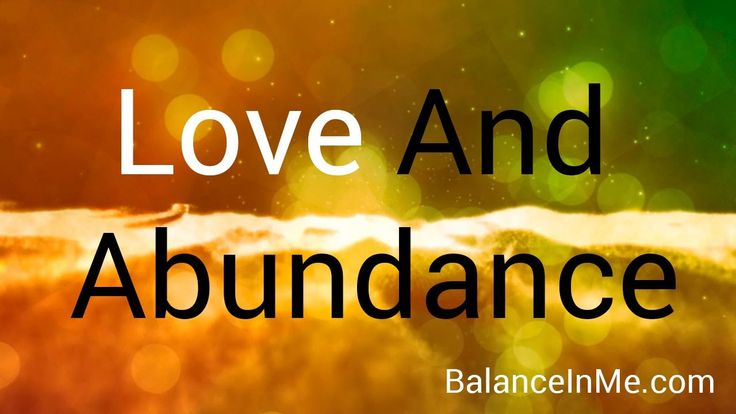 Guided Meditation for Love and Abundance With Relaxing Background Music ...