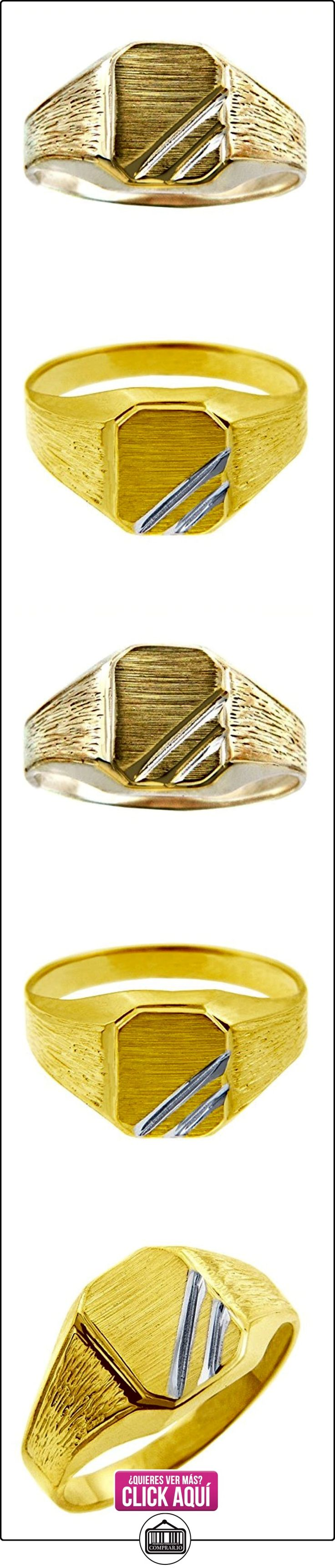 Pequeños Tesoros - Anillos Hombres 10 Kt Oro 2 Colores 471/1000 Zeus Sortija De sello  ✿ Joyas para hombres especiales - lujo ✿ ▬► Ver oferta: https://comprar.io/goto/B012785K5W