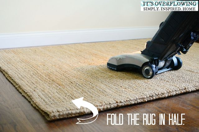 Cleaning Area Rug – Three Easy Steps