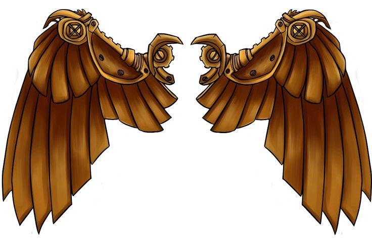 Steampunk Wings by nashi-kun on DeviantArt