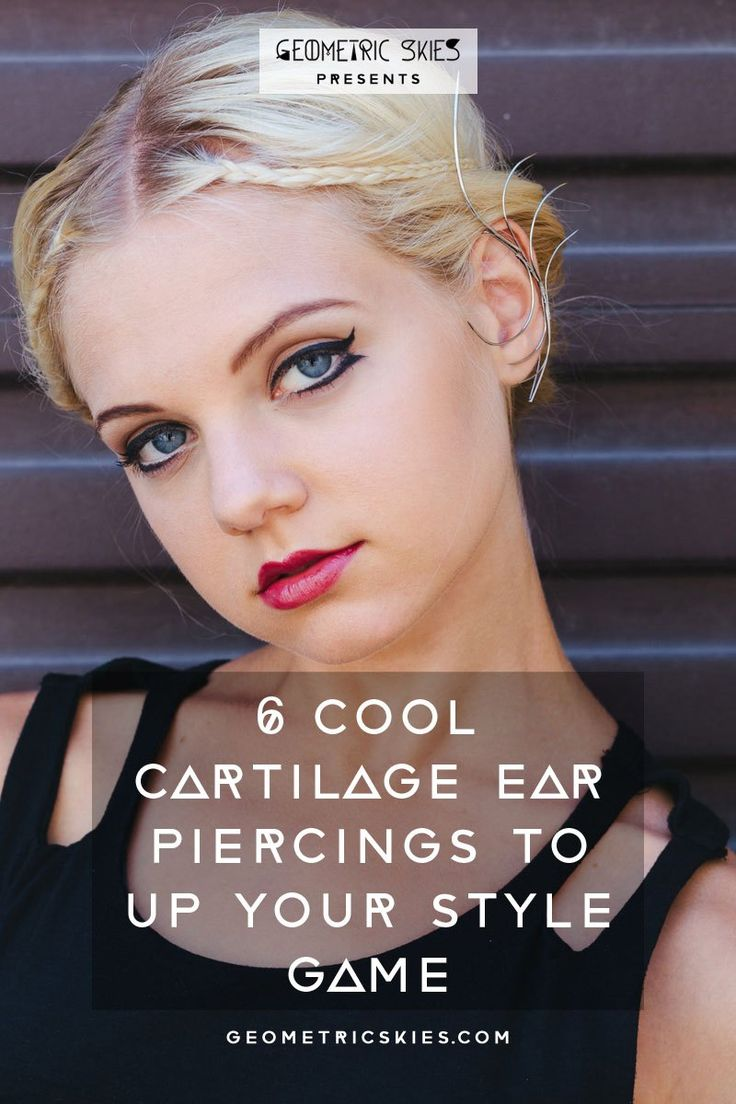 Up your style game with these 5 badass cartilage piercings! Click through to read our guide on the essential piercing truths you need to know!