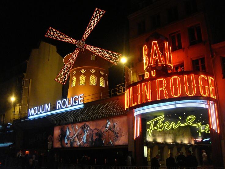 Moulin Rouge, Paris. Original.
