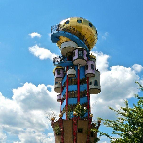 Фриденсрайх Хундертвассер и Пивная башня в Баварии - Архитектурно-строительное проектирование в Екатеринбурге – «Уралархпроект»