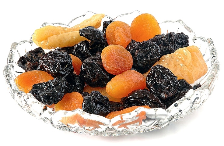 Dried Fruit Health Benefits - Dried Apricots, Peaches, Pears, Apples