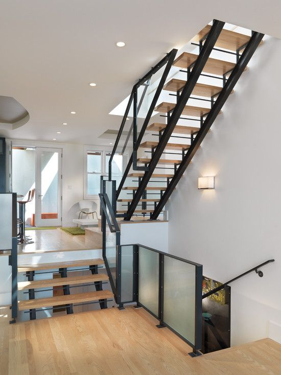 Glass Stair Tread Design, Pictures, Remodel, Decor and Ideas - page 2