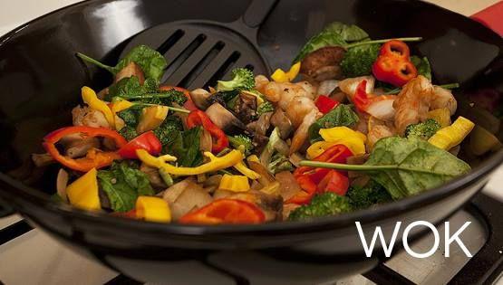 El wok kuo en el idioma mandar n es un utensilio de for Cocinar wok