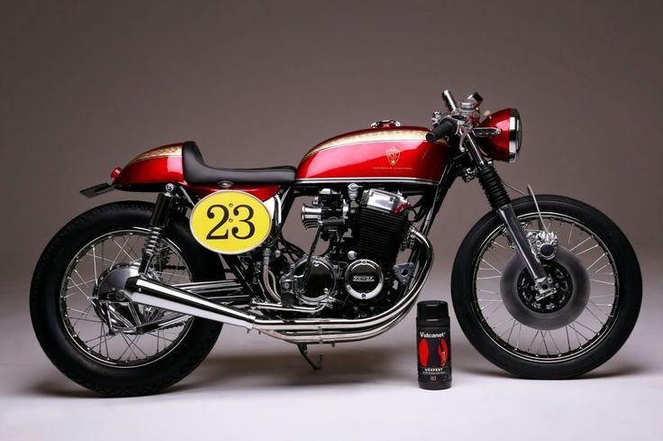 Cafe Racer Pasión —  caferacerpasion.com  Honda CB750 #CafeRacer by...