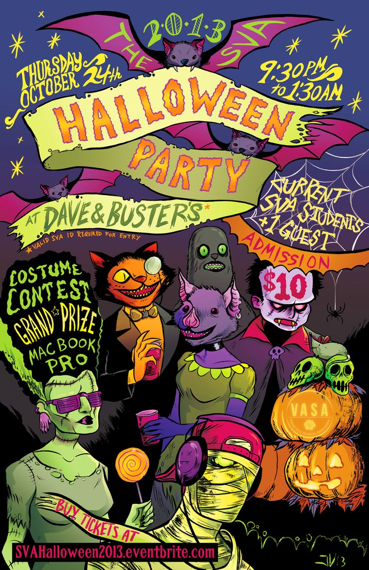 14 best Halloween Party Poster Ideas images on Pinterest