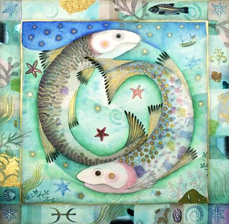 AstroSpirit / Pisces ♓ / Water / Poissons par Jane Ray