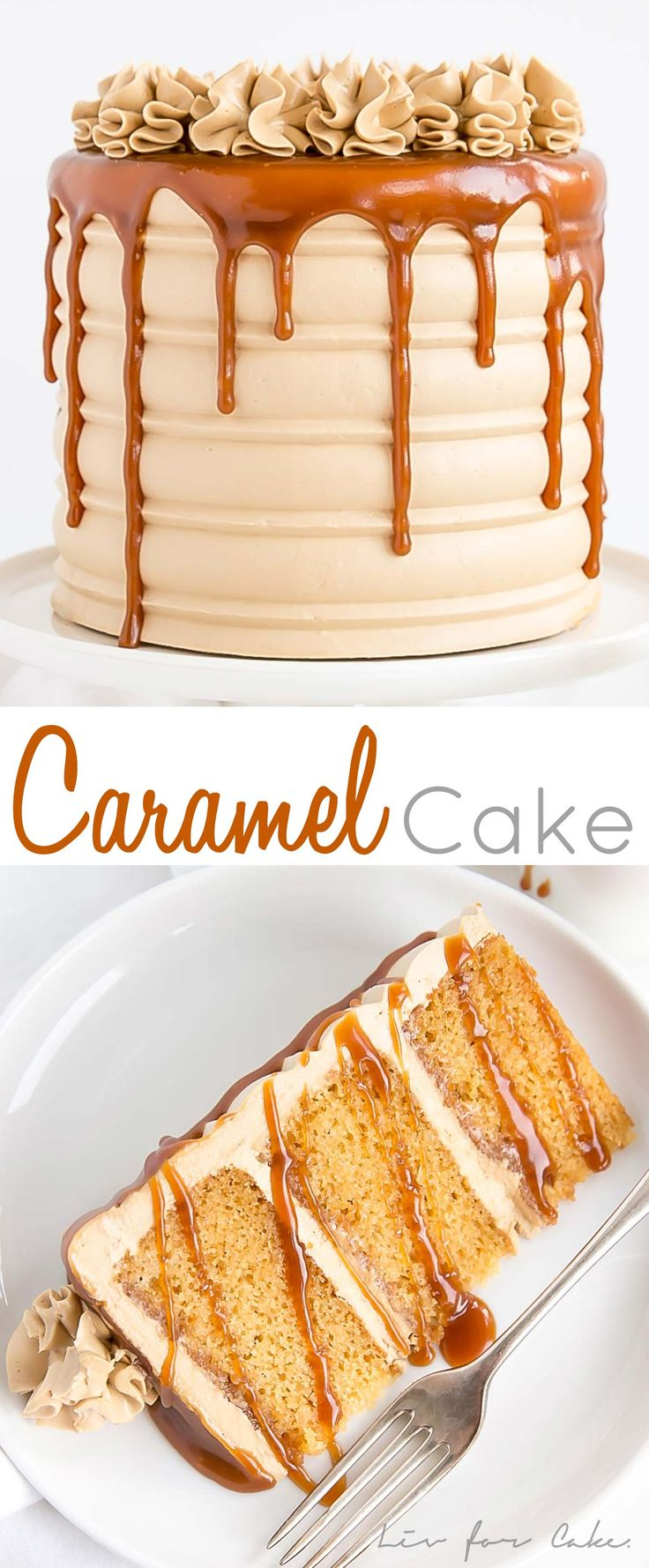 This Caramel Cake is perfect for that die hard car…