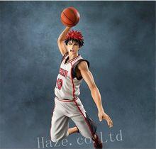 Anime Kuroko's Basketball Kagami Taiga Painted Figure Figurine Toys 24cm