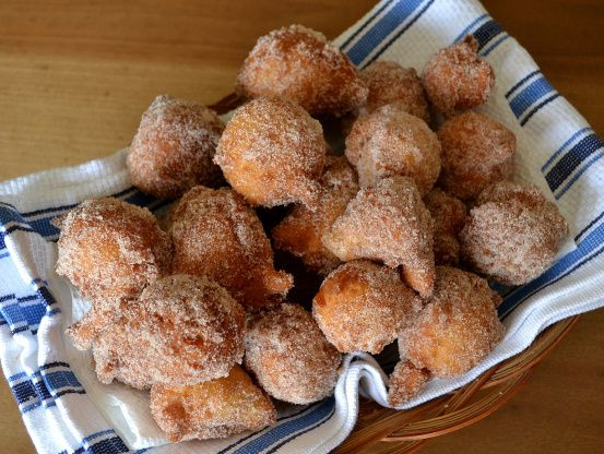 These were the homemade version of timbits in my house while I was growing up.  Best eaten the night made, but just as wonderful the day after.