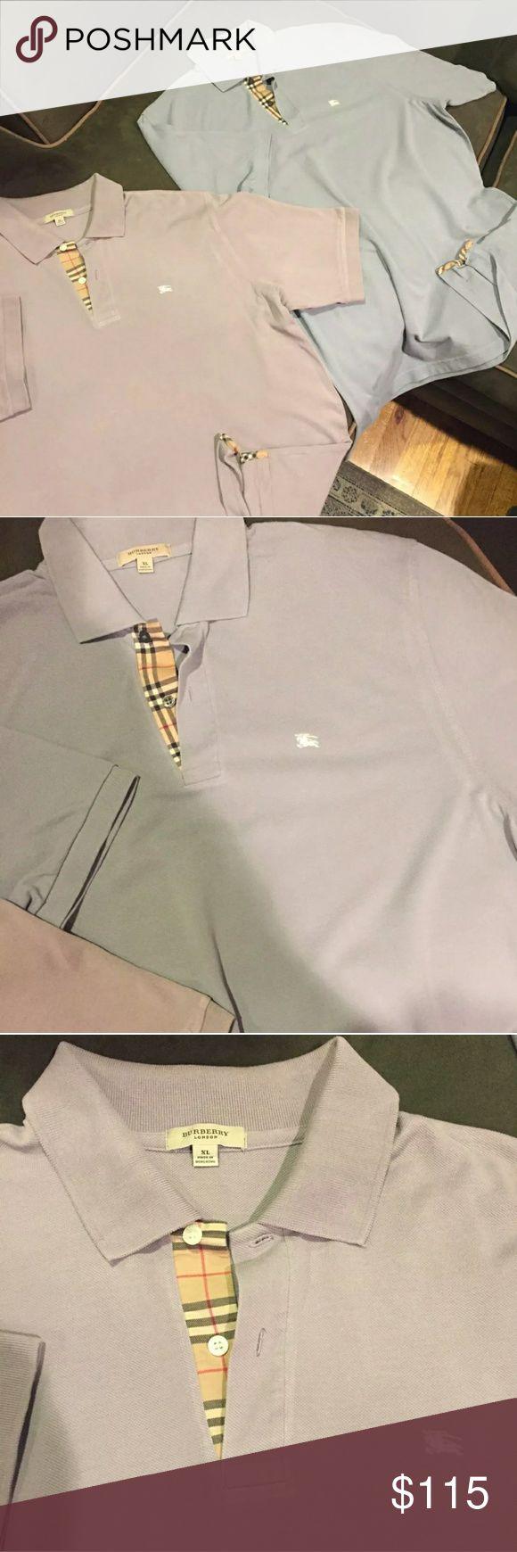 Burberry Polo Shirts Very very good. 2 Burberry polo shirts Burberry Shirts Polos