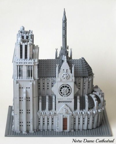 Notre dame | Lego Creation: Notre Dame de Paris ...