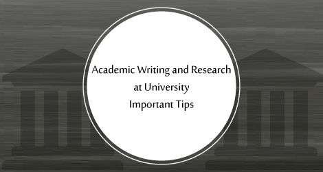 Important #Tips for #Academic #Writing and #Research at #University  #StudyAbroad #SIEC #EducationAbroadConsultant