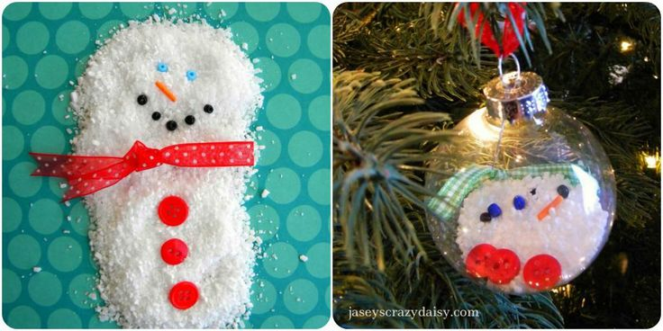Homemade Christmas Ornaments Melted Snowman : Best images about crazy daisy idea book on