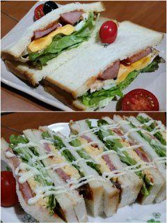 月末の朝は自家製サンドイッチを作ってみましたちょっと作りすぎてしまいましたが写真上が朝写真下が昼我ながらに上手にできましたよ()v  さて7月最終日今日も一日 自分の責任を果たすために頑張るぞ tags[福岡県]