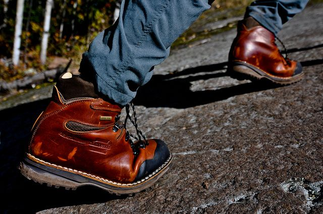 Zamberlan Boots in action! Tough, durable, practical, waterproof and stylish...