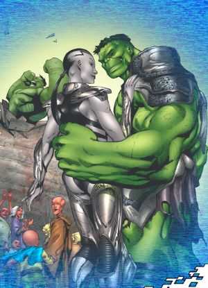 hulk and caiera