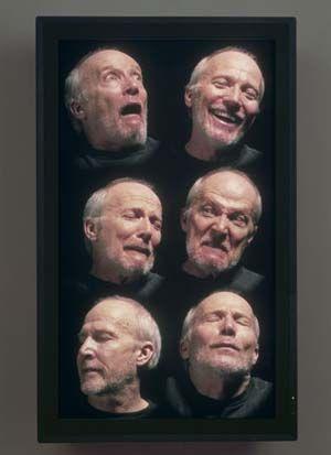 Bill Viola 'Six Heads'
