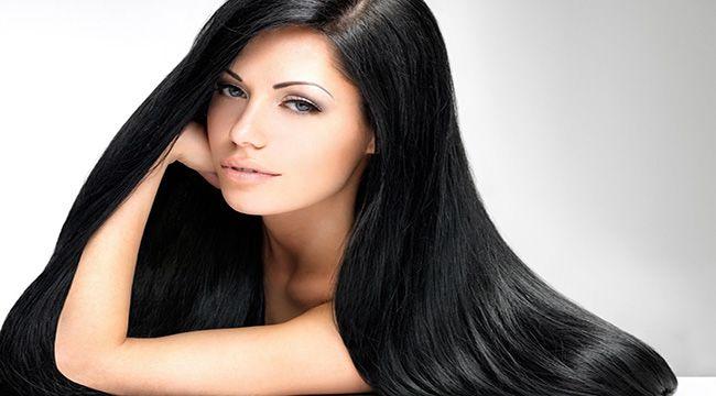 Şehvetli Siyah Saç Rengi ve Tonları