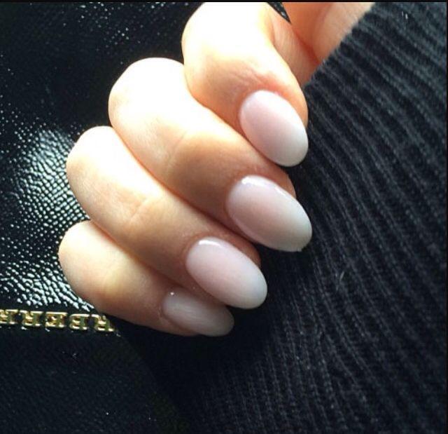 Ecbasket Acrylic Nail Tips Natural Fake Nails Short Oval: Oval Nails