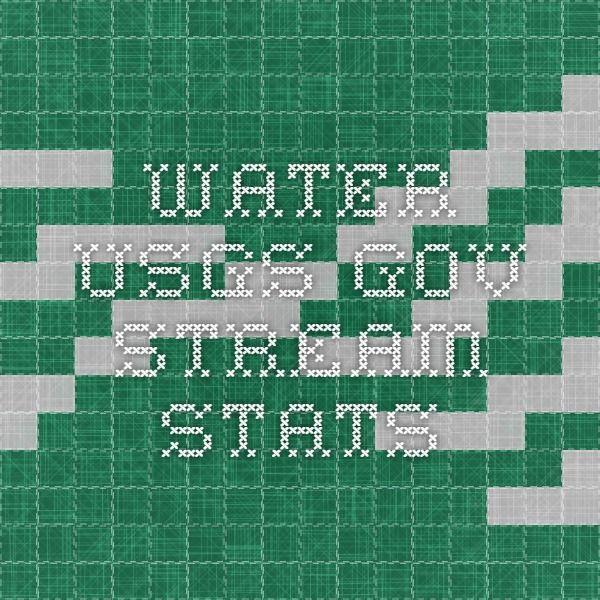 water.usgs.gov - Stream Stats
