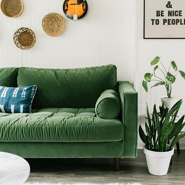 Sven Grass Green Sofa Green Sofa Furniture Upholstered Sofa