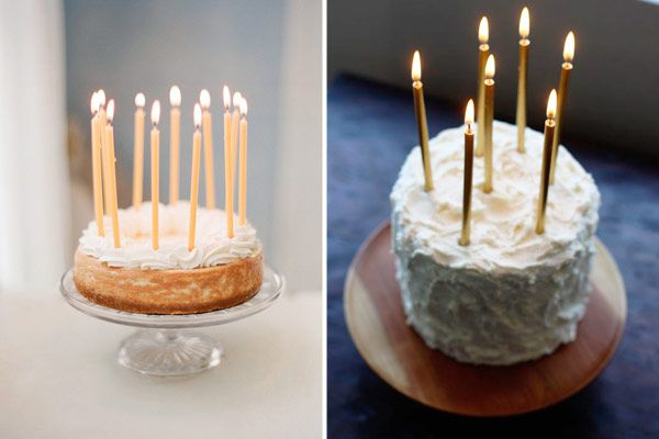Candles on Wedding Cakes – A Romantic Alternative to Cake Toppers