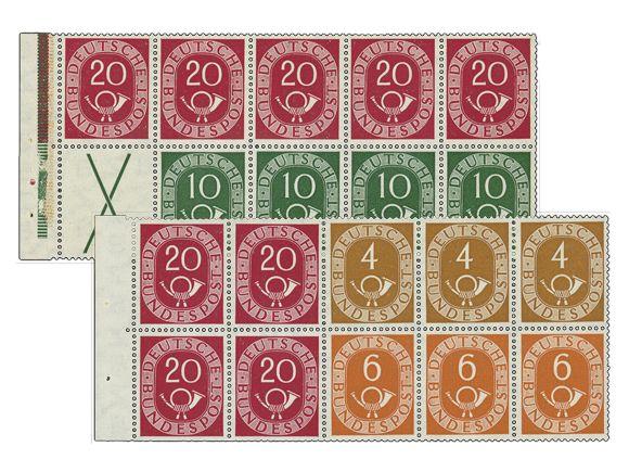 Wertvolle Briefmarken: Der Posthornsatz http://forum-philatelie.de/Thread-F%C3%A4lschungen-Posthornsatz