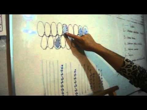 TELAR ABORIGEN - Paso 1 Cómo leer diagramas - Segunda Parte URDIDO - YouTube