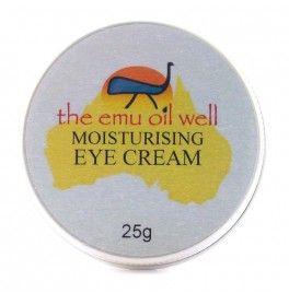 Crema naturala de ochi cu ulei de emu, acid hialuronic, vit. A si E