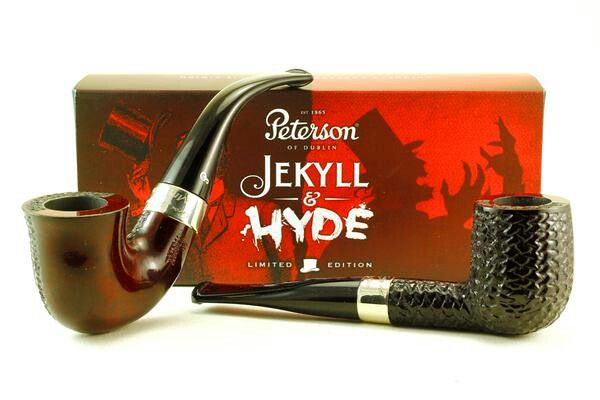 New Peterson Jekyll & Hyde two-faced pipes!!