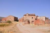 Tobes; un pueblo abandonado de Guadalajara, España.