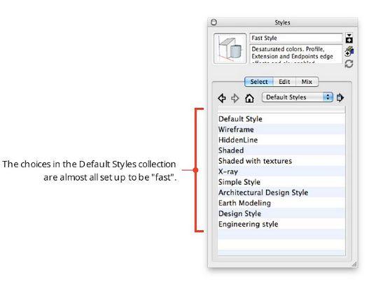 การตั้งค่า SketchUp ให้มีความเร็วมากขึ้น   AppliCAD Co., Ltd.