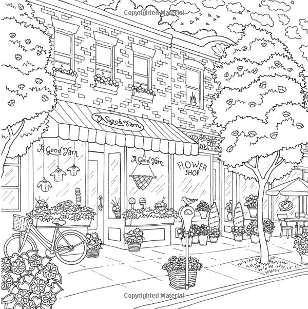 amazoncom the world of debbie macomber come home to color an - Coloring Pages Houses Homes