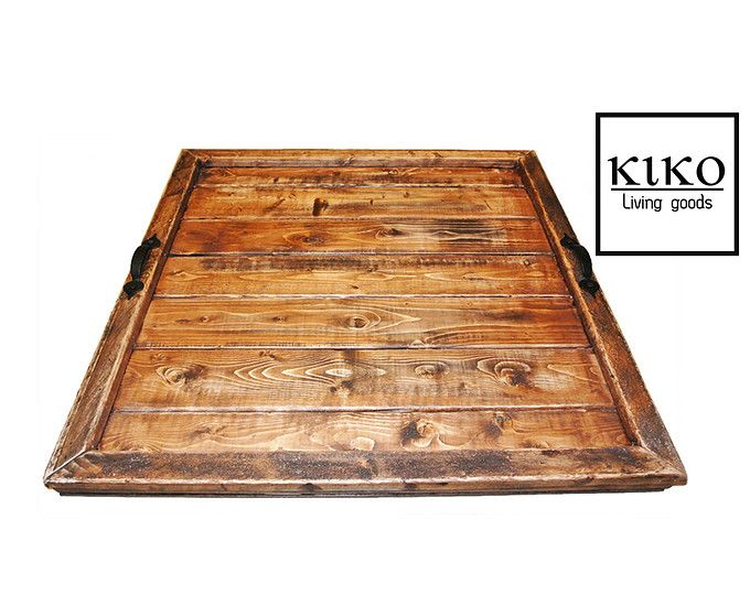 Large Serving Tray, Large Ottoman Tray, large tray, rustic serving tray, rustic tray, rustic ottoman tray, serving tray, ottoman tray
