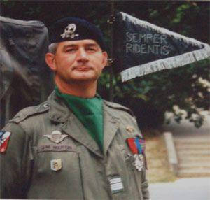 73e Le Colonel Martin Galerie des chefs de Corps 2RH