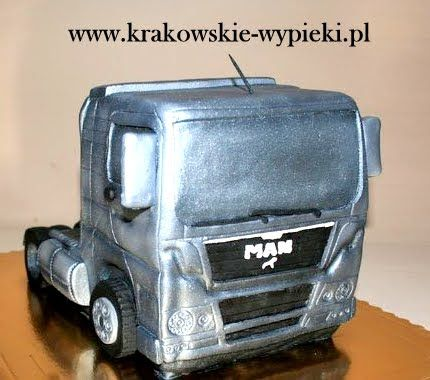 Tort Ciężarówka z Cukierni Krakowskie Wypieki