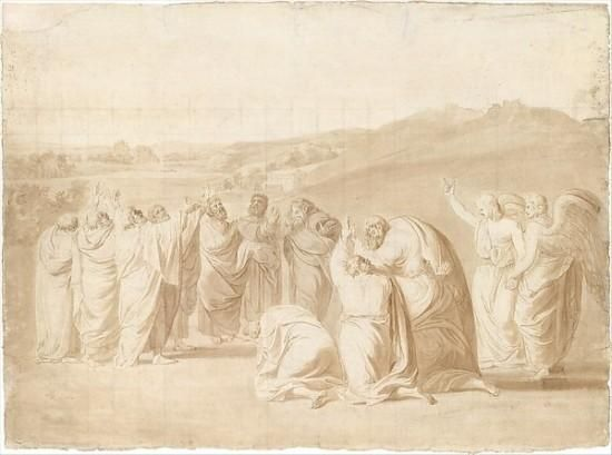 Sapporo Snow Festival | Study for The Ascension Poster Print by John Singleton Copley ...