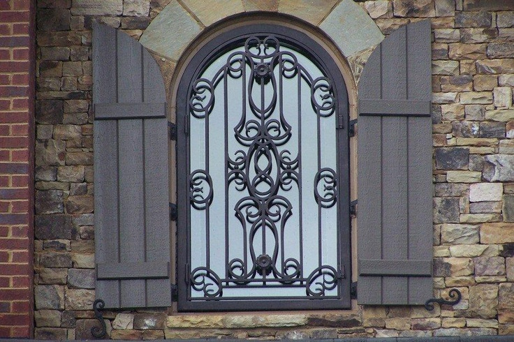 Wrought Iron Window A Signature Window Quot Back To Europe