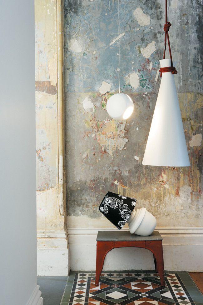 Decorative hanging lamp shades