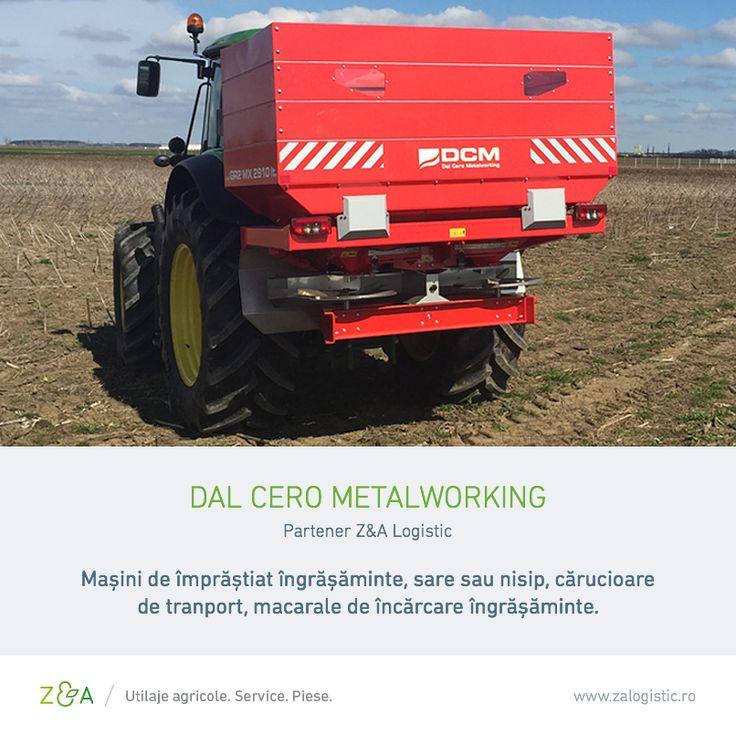 Producătorul italian Dal Cero Metalworking are o experiență de peste 35 de ani în fabricarea de mașini de împrăștiat îngrășăminte, sare sau nisip, cărucioare de tranport și macarale de încărcare îngrășăminte.