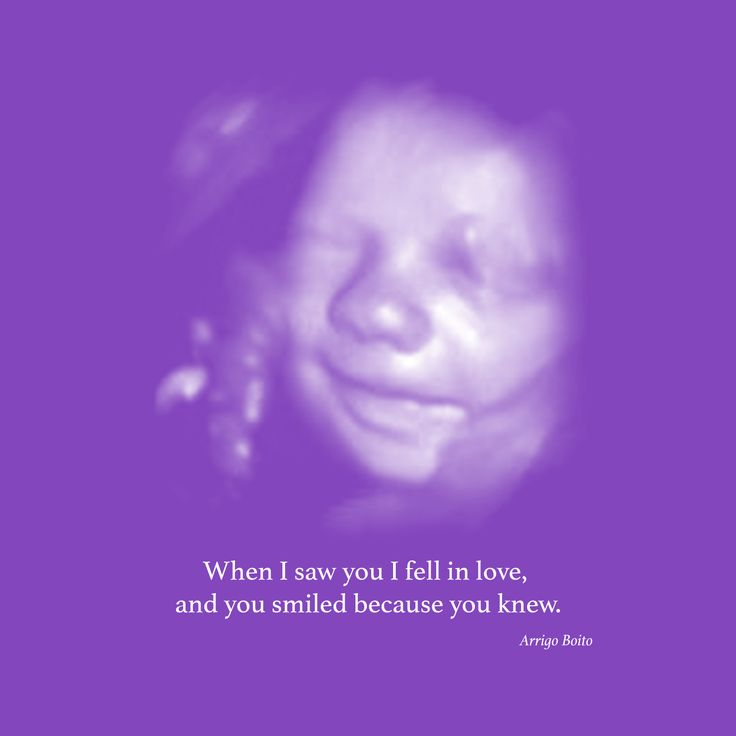"Baby Ultrasound Art.  ""When I saw you I fell in love, and you smiled because you knew"" I love this quotation!"