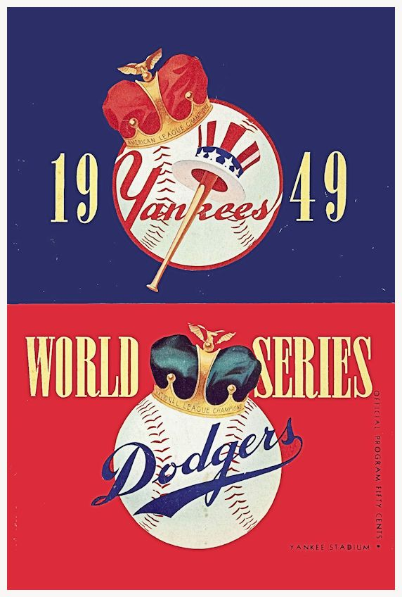 "1949 WORLD SERIES New York Yankees vs Brooklyn Dodgers Poster $8.00 • 100% Mint unused condition • Well discounted price + we combine shipping • Click on image for awesome view • Poster is 12"" x 18"" • Semi-Gloss Finish • Great baseball Collectible - superb copy of original • Usually ships within 72 hours or less with tracking. • Satisfaction guaranteed or your money back. Available at: Sportsworldwest.com"