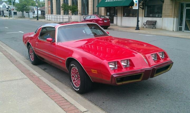 "Cool Pictures Of Cars >> 1979 Firebird ""Redbird"" edition 