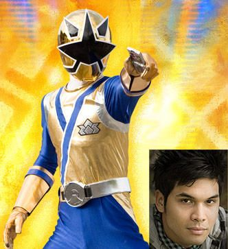 Power Rangers Samurai Gold Rangers Antonio