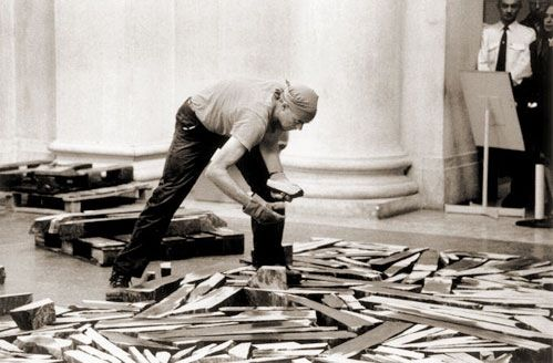 The Turner Prize 1989 was awarded to Richard Long.