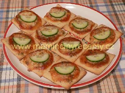 Pizza čtverce